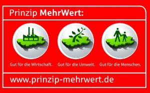 Logo MehrWert mit URL